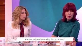 Janet Thinks the Focus Should Be on Rehabilitation | Loose Women