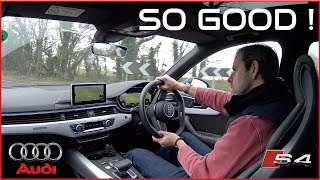 Driving my new Audi S4 (B9) - Who needs an RS4 ?! [FIRST DRIVE]