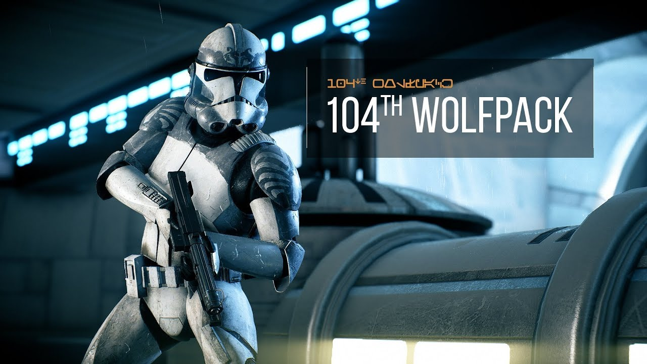 104th wolfpack battalion by orthohex star wars battlefront ii youtube