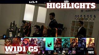 Misfits vs Fnatic - Highlights | Week 1 Day 1 S11 LEC Spring 2021 | MSF vs FNC