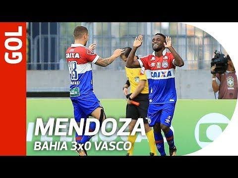 Gol de Mendoza - Bahia 3x0 Vasco