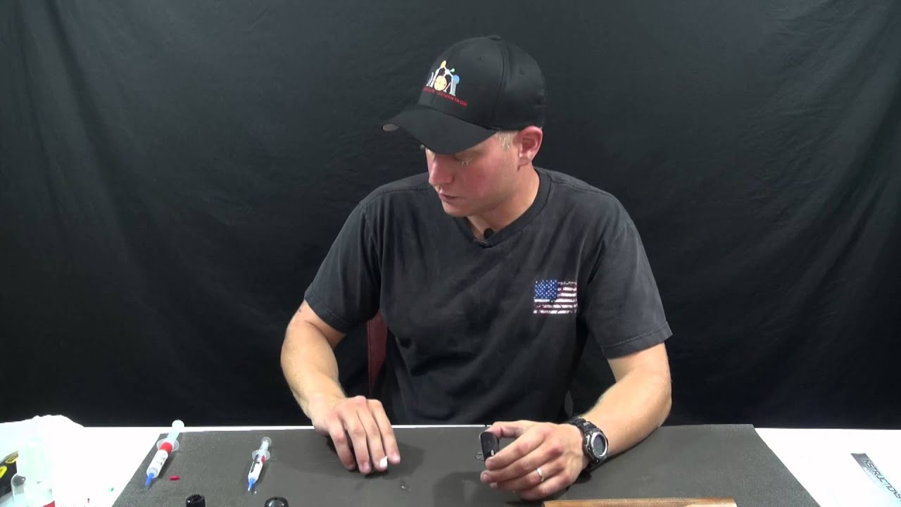 How to lubricate a shotgun with Firearms Instructor Jesse Phillips using MOA