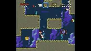 Super Mario World (SNES)-Forest Of Illusion 2 (Saída Normal e chave)