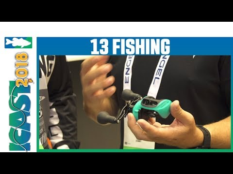 13 Fishing Concept TXZ Casting Reel With Matt Baldwin & Dave Lefebre | ICast 2018