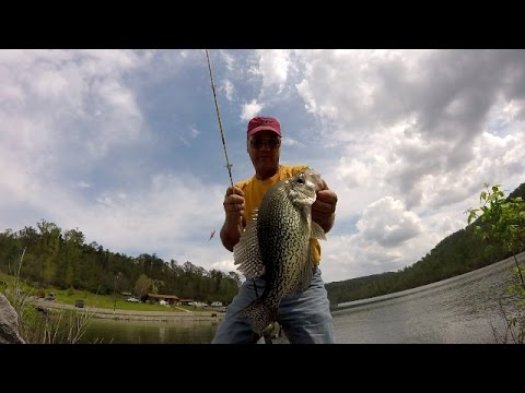 Crappie Fishing - Catching Slabs From The Bank