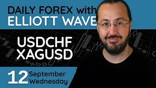 USDCHF, XAGUSD - Forex Trade Setups (12 September 2018)