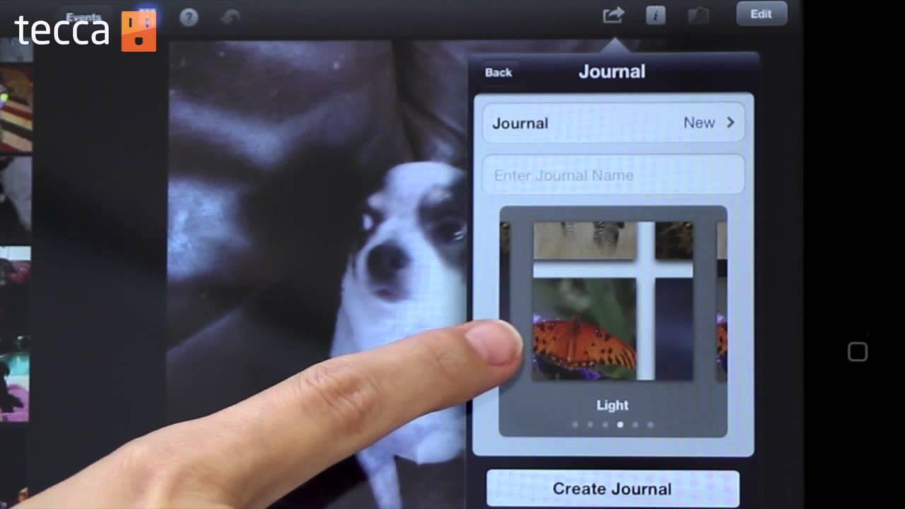 how to keep a journal on ipad