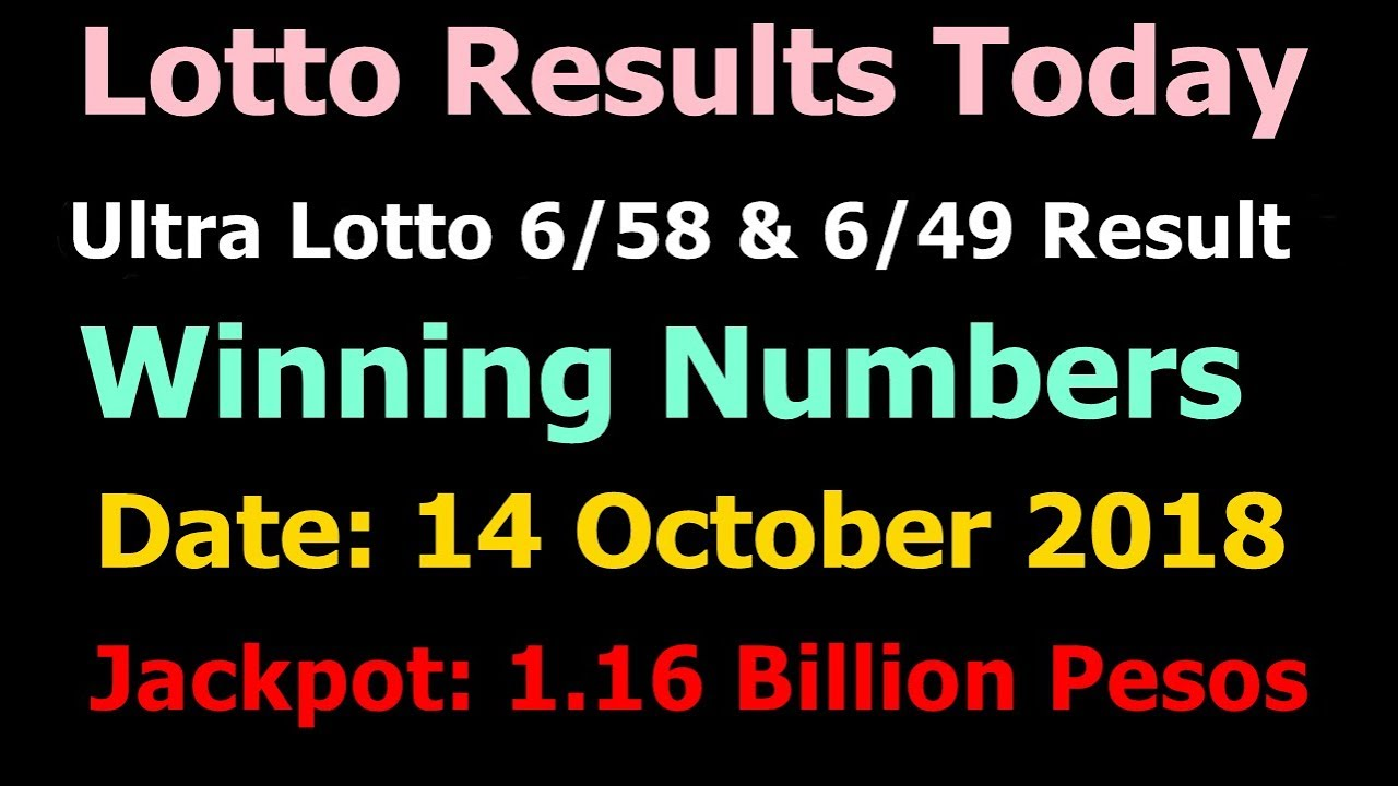 Lotto 6 49 Result Today
