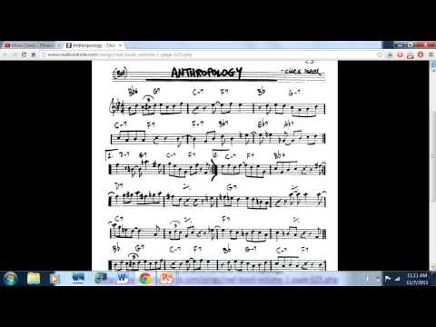 Beginning Jazz Composition   Lesson One
