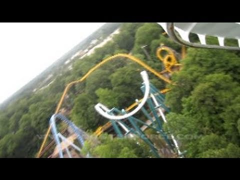 Alpengeist Front Row Seat on-ride HD POV Busch Gardens Williamsburg