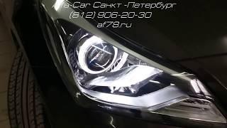 Тюнинг Hyundai Solaris от ALFA-CAR . Машинка для Александра Стекольникова Актера сериала Универ.