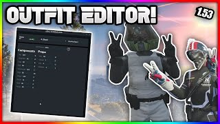 GTA V Online 1.57║*XDEV OUTFIT EDITOR*║How To Make Modded Outfits Using Xdev Outfit Editor║+Tutorial
