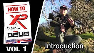 Metal Detector XP DEUS: Introduction (1/10) [EN]