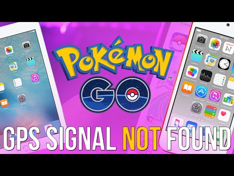 GPS Signal Not Found iPad & iPod Touch Pokemon Go [Current State]