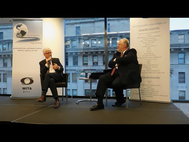 11/5/18 Valedictory Remarks with Ambassador Tim Groser | Part 1