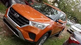 Hyundai Creta 1.6E+ VTVT | Passion Orange