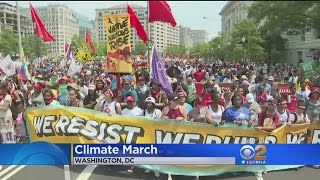 Thousands Across The Nation March To Protest Trump Administrations Denial Of Climate Change