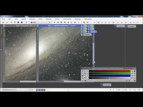 LHaRGB Processing: Adding Ha to RGB and L data