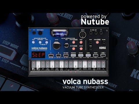 KORG volca nubass: Delivering huge bass via a real vacuum tube
