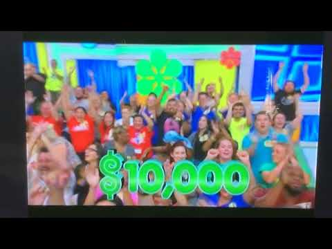 Greatest Moment on Price Is Right  80,000 on wheel
