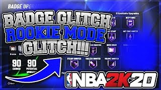 *NEW* ROOKIE DIFFICULTY AND UNLIMITED MyPLAYER NATION GAMES GLITCH IN NBA 2K20 AFTER PATCH 1.10!!
