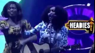 Aramide performs FunMi Lowo at The Headies 2016 ft. Ras Kimono