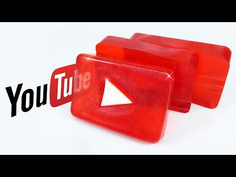 How To Make YOUTUBE LOGO JELLY - YOUTUBE GUMMY