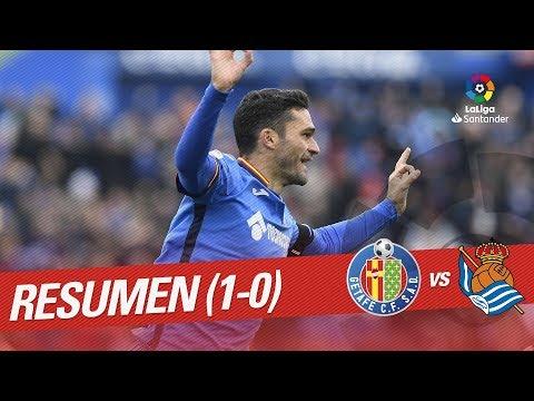Resumen de Getafe CF vs Real Sociedad (1-0)