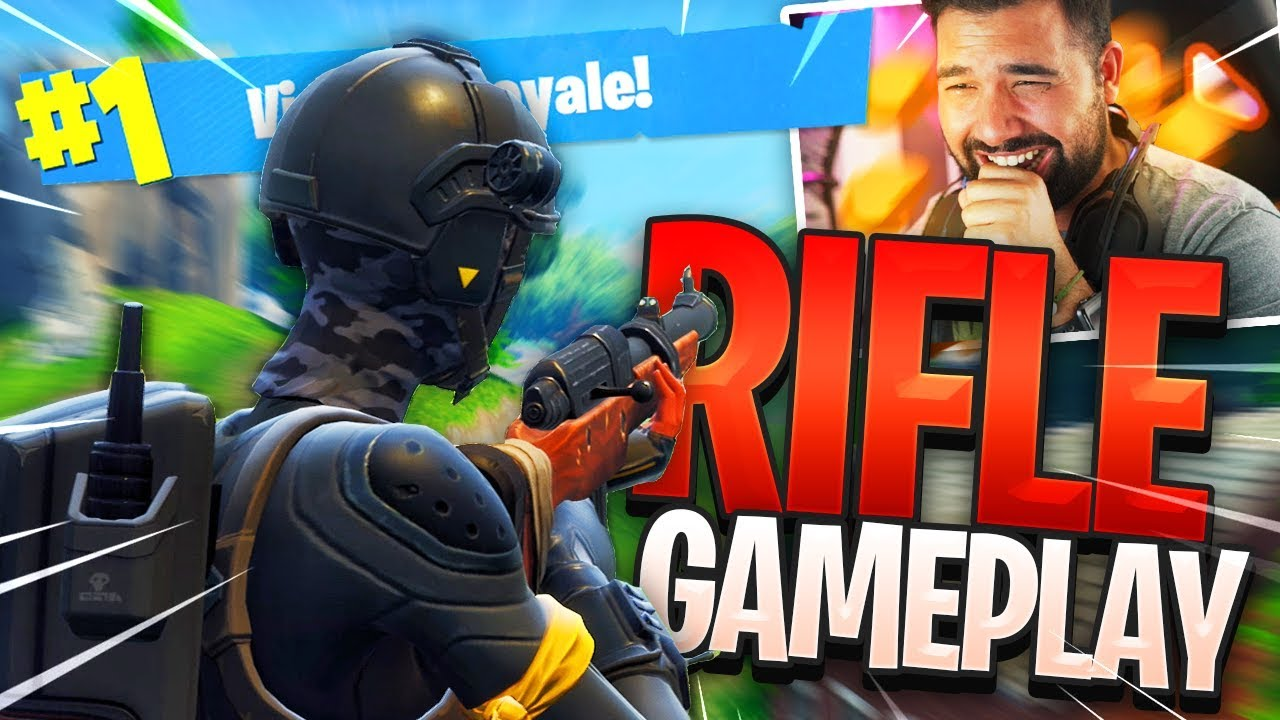 New Quot Hunting Rifle Gameplay Quot In Fortnite Battle Royale