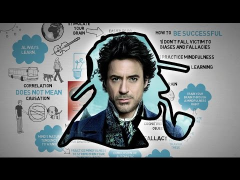 How To Think Like Sherlock Holmes - Mastermind - Maria Konnikova