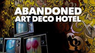 EXPLORING A ROARING 20'S ART DECO HOTEL - Incredible Retro Wallpaper!