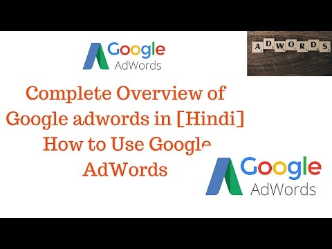 Complete Overview Of Google Adwords In Hindi
