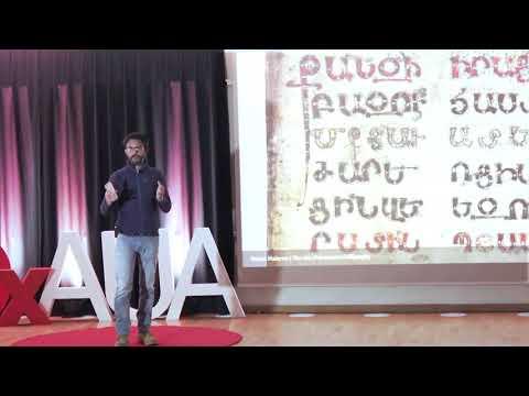 The Art Of Armenian Calligraphy | Ruben Malayan | TEDxAUA