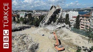 Atatürk Kültür Merkezi yıkıldı