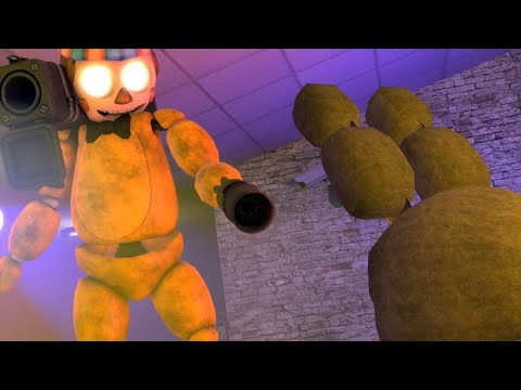 Five Nights at Freddys Animation: Overpowered (SFM FNAF)