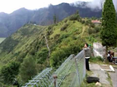 Bromo Volcano From Cemara Indah Hotel (Indonesia) - Indonesia Travel Guide (Tourism)