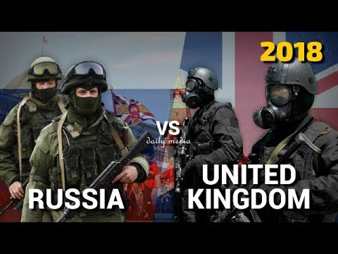 Russia vs United Kingdom - Military Power Comparison 2018