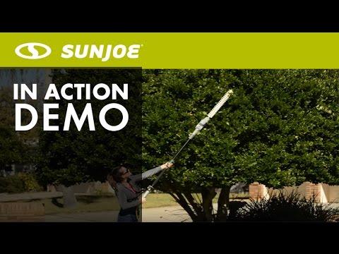 Sun Joe SJH902E Electric Telescoping Pole Hedge Trimmer21-Inch4 Amp