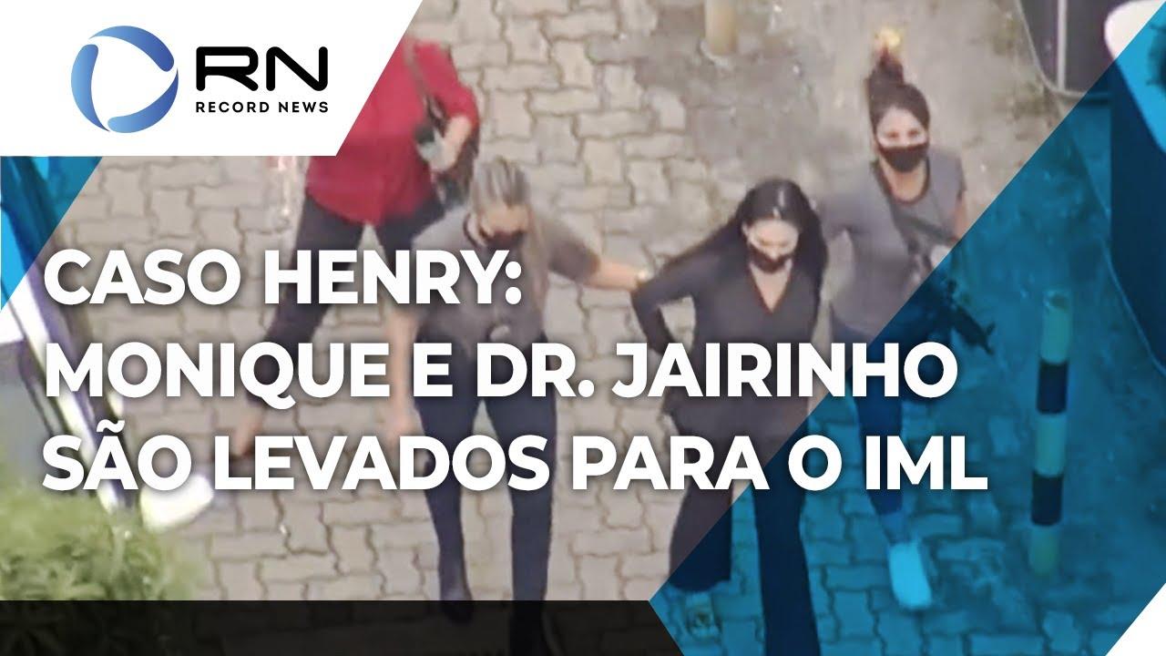 Download Caso Henry: Monique Medeiros e Dr. Jairinho são levados para o IML