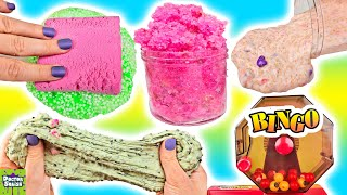 Slime Mixing Bingo! Scented Cloud Slime and Slime Fails! Doctor Squish