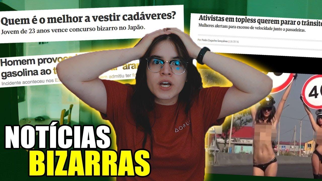 AS NOTÍCIAS MAIS BIZARRAS DO MUNDO! LiliOnScreen