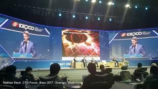 BIXPO 2017, CTO Forum, Gwangju, South Korea, 2 Nov 2017