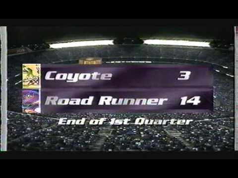The Big Game XXVIII  Road Runner Vs Wile E. Coyote 2000