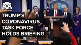 Coronavirus task force holds briefing as global cases surpass 1 million - 4/2/2020