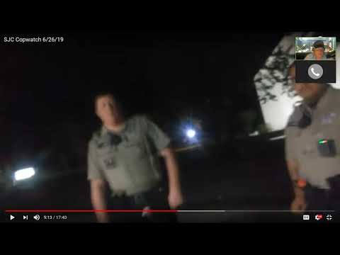Live With Concerned Citizen San Jacinto County Sheriff Deputy Thug