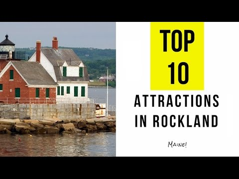 Top 10. Best Tourist Attractions in Rockland - Maine