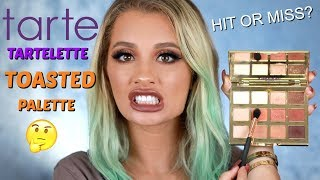 TARTE COSMETICS TARTELETTE TOASTED EYESHADOW REVIEW + TUTORIAL