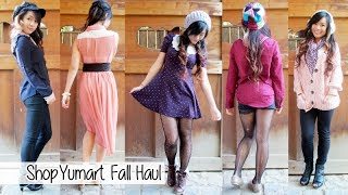 Shop Yumart Fall Haul & Review