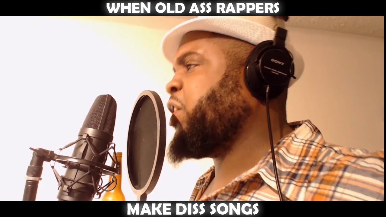 when old ass rappers make diss songs - youtube