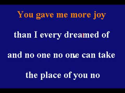 Natalie Cole - This Will Be (Karaoke)